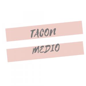 TACÓN MEDIO